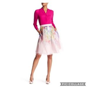 Ted Baker London Glenis silk skirt